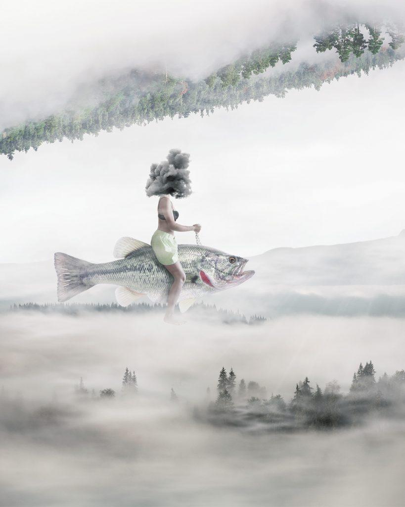 Stine på fisk