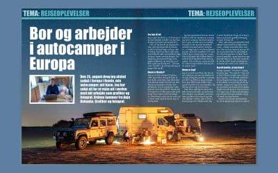 Min første artikel i Campingbladet.dk