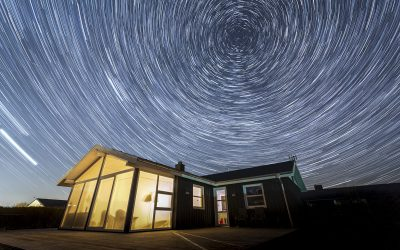 Star trails… the earth turns…