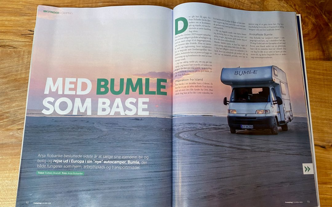 Dansk Camping Union talks about Bumle as a base