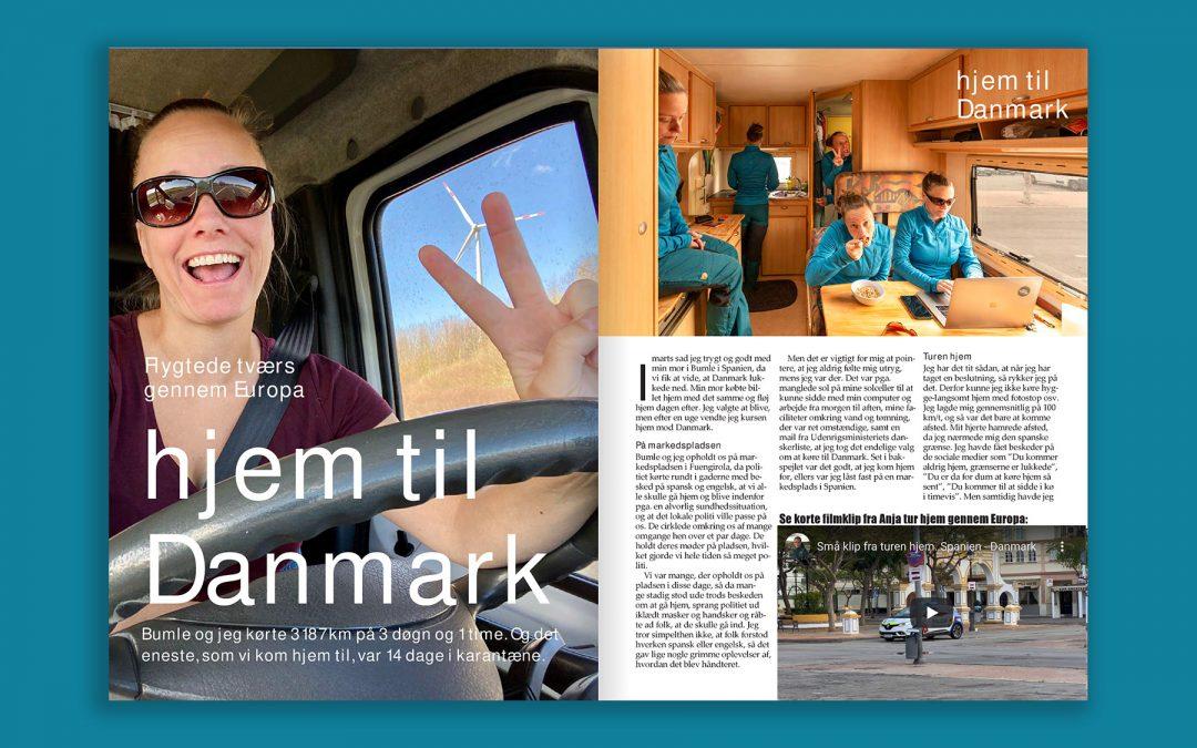 Campingbladet: Hjem til Danmark!