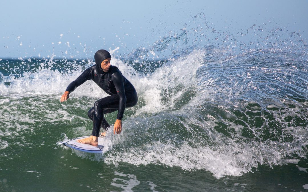 Surfer spam at Klitmøller