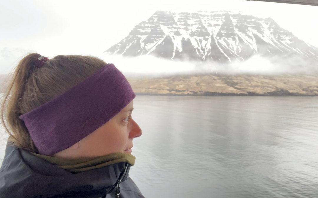 Færgeturen fra Danmark til Island
